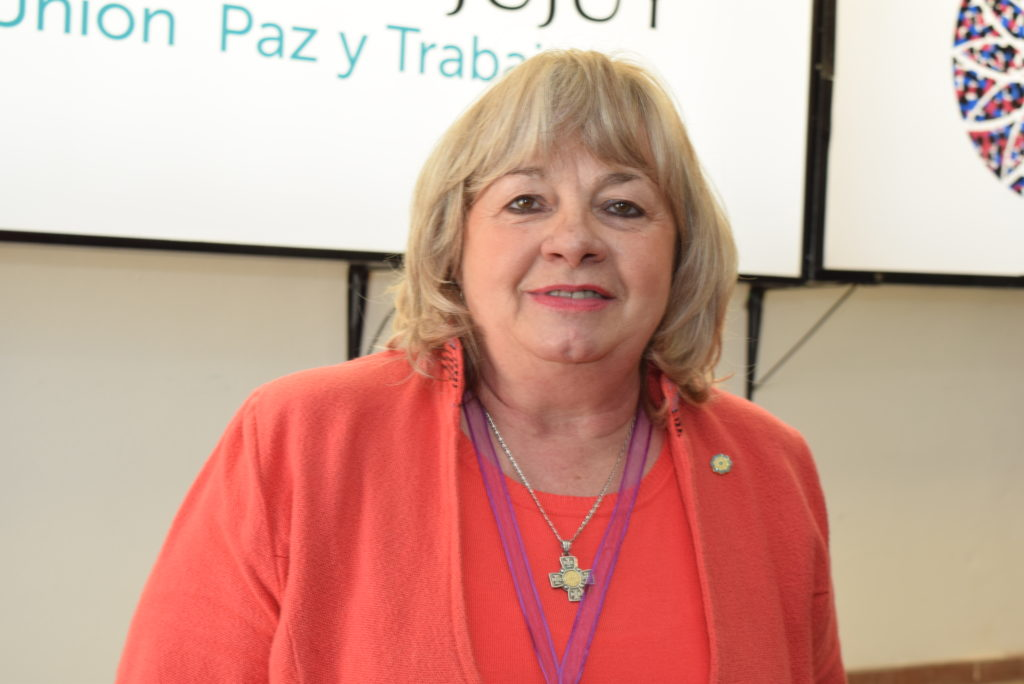 Aurora Brajcich, secretaria de Gestión Educativa del Ministerio de Educación.