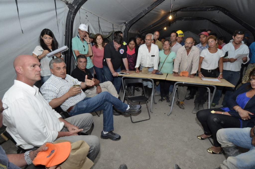 Gobernador Morales encabezó reunión de Comité de Emergencia