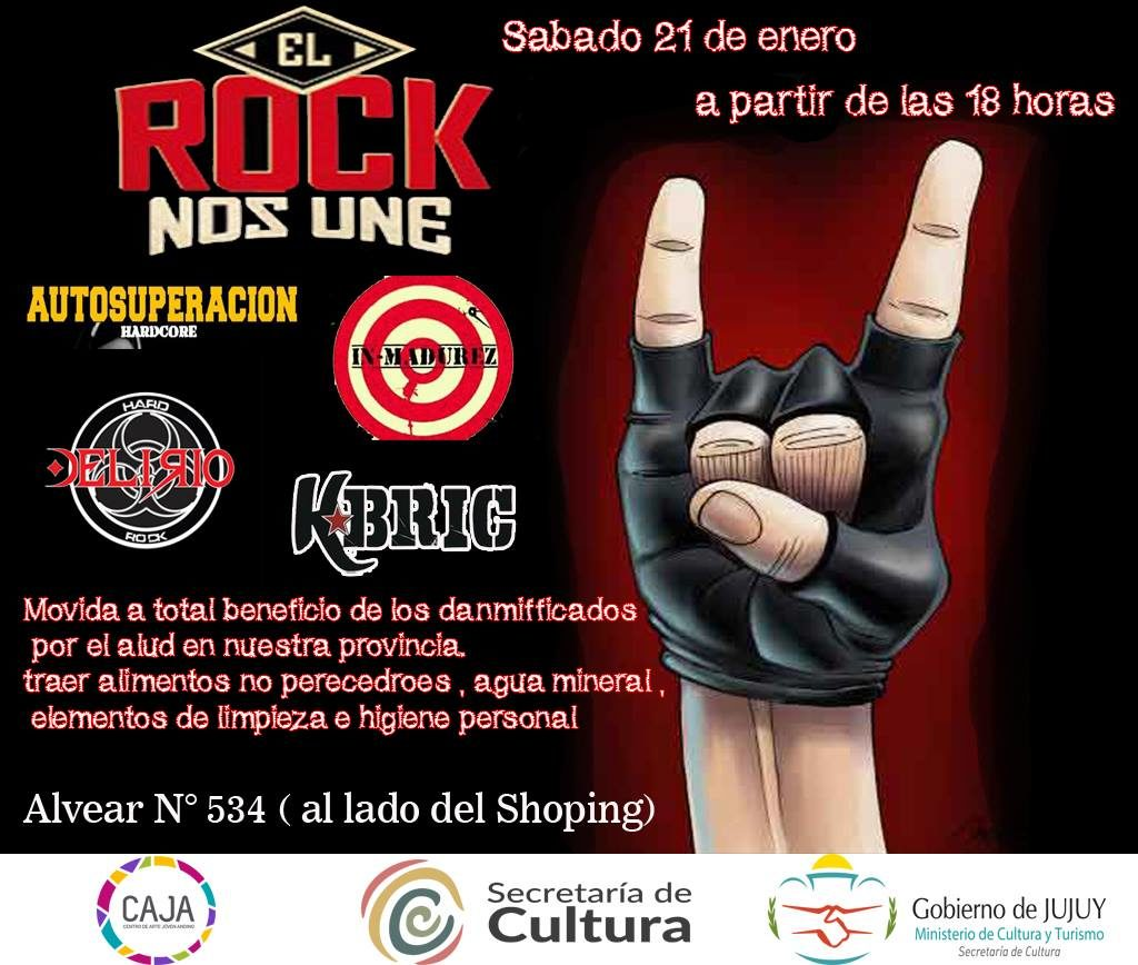 Recital de Rock Solidario