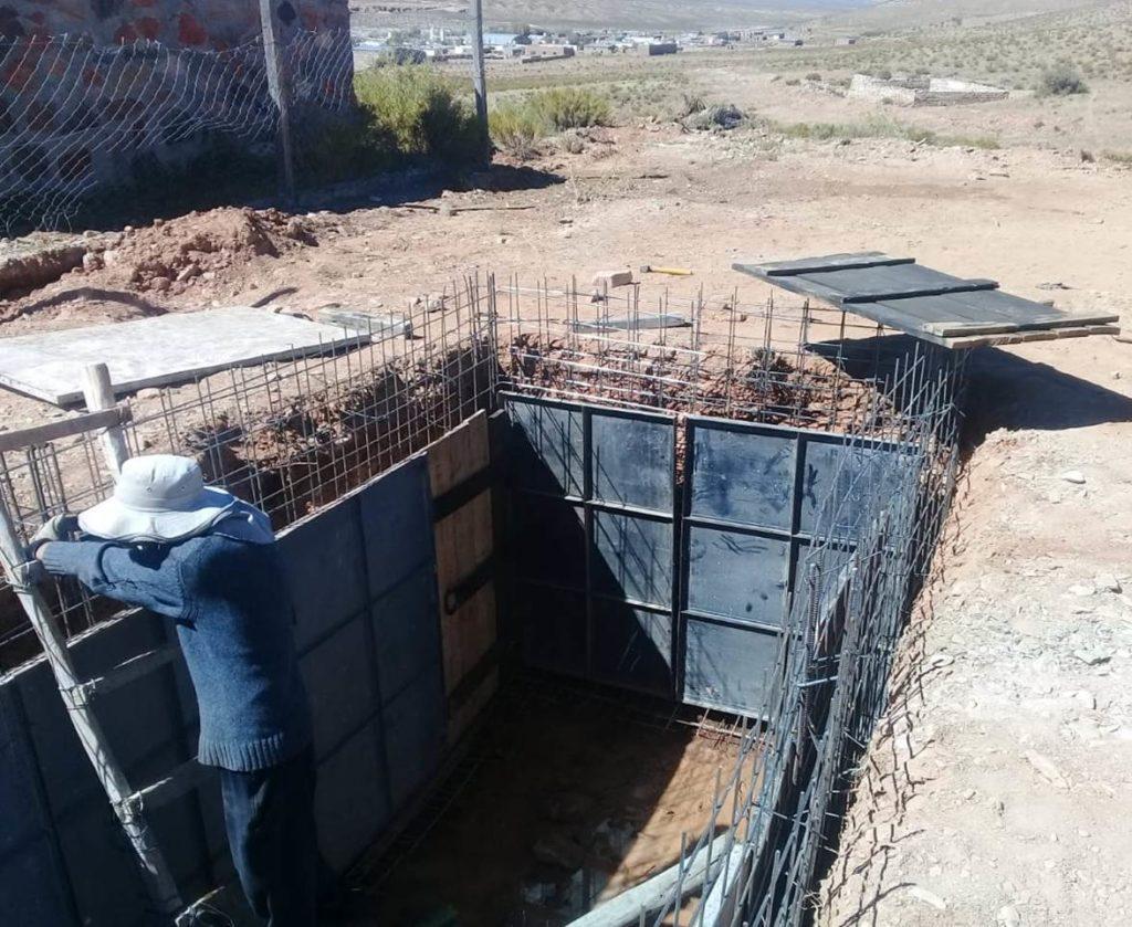 Obra de agua para los habitantes de Barrancas