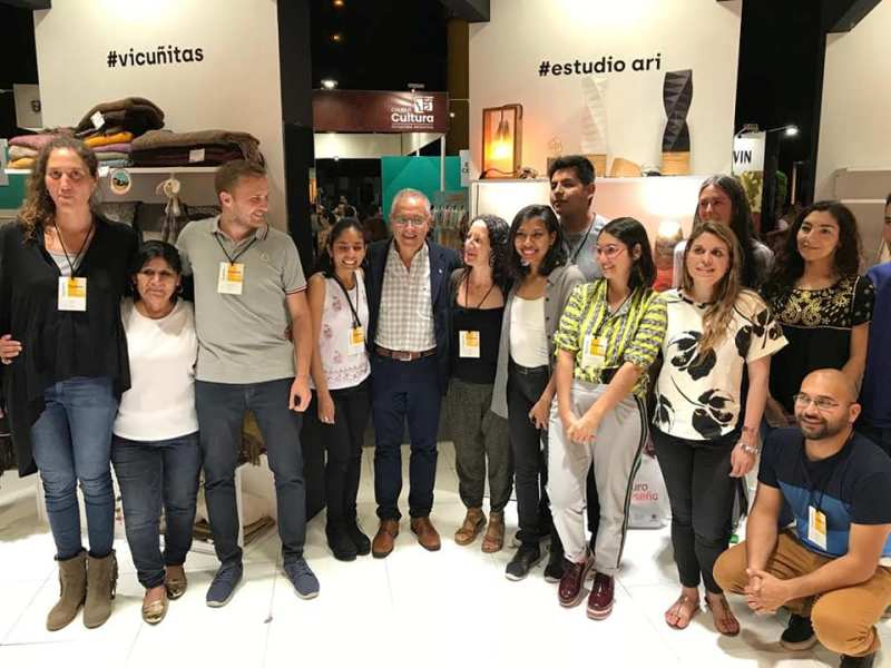 Delegación jujeña en Puro Diseño 2018